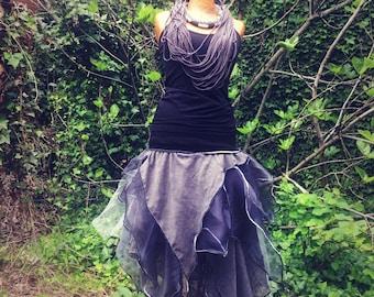 """Grey grey grey"" skirt bouffant tutu shape"
