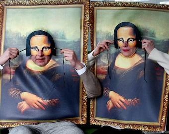 Maskenball - Un ballo in maschera / Monna Lisa, fotografia digitale, stampa su carta fotografica satinata, 20cmx30cm, tiratura 1/5.