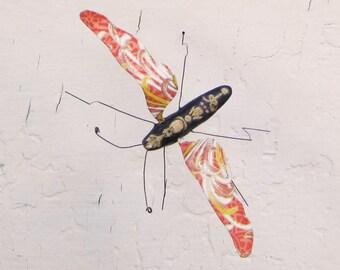 Orange Mum Bug