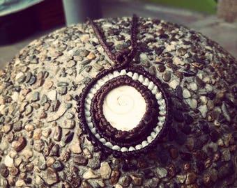 Macrame necklace Shivaauge