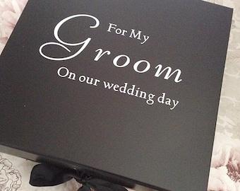 Groomsmen box, grooms box, wedding keepsake , best man box, gifts for grooms