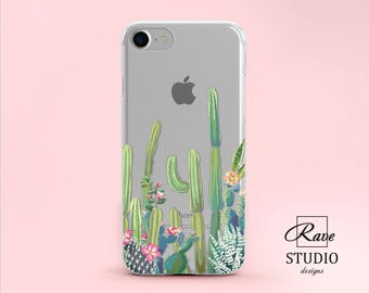 succulents watercolor succulent Cactus Plant iPhone 8 plus case iPhone 8 case iPhone8 iPhone X case iPhone 10 case iPhone 10 iPhone 7 iPhone
