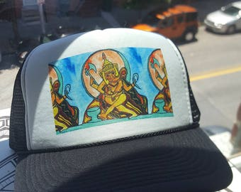 Ganesha Original Art Trucker Hat