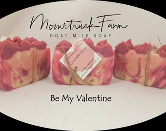Be My Valentine Goat Milk Soap