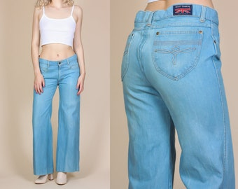 80s Britannia Mens Jeans - Size 33 // Vintage Bootcut Denim Pants