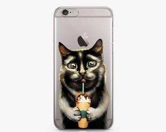 Personalized Phone Case Google Pixel Case iPhone 8 Case Cat iPhone 7 Case iPhone 6S Case iPhone 7 Plus Case Samsung Galaxy S8 Case AC1202