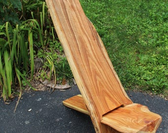 Viking Star Gazer Chair Chainsaw Carved from Kentucky Coffee