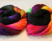 100G SPORT, Hand Dyed, Color - Dr Who Traveling Tardis**#