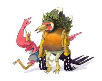 Bird Head - Cabeza de pájaro