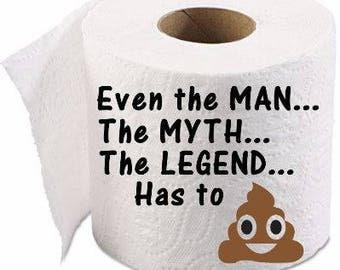Toilet Paper Gift,  Gag Gift, Funny Present