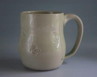 White Rose Mug 10oz