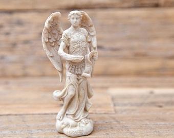 Small Archangel Statue Cream Michael, Uriel, Raphael, Gabriel