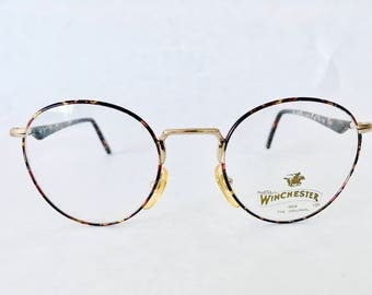 Vintage Winchester Round Eye Glasses by Magic Line 'Old West'