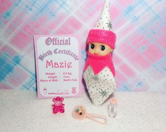 Baby Elf Doll Maize The Shelf Sitter Doll