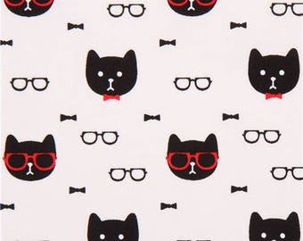 cats black patchwork child Michael Miller fabric