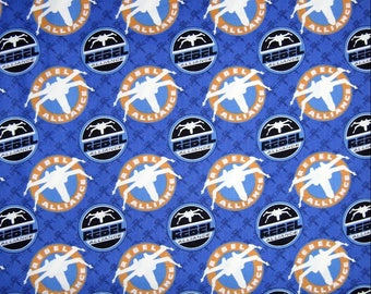 STAR WARS REBEL ALLIANCE fabric CAMELOT FABRIC