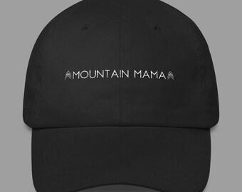 Mountain Mama Cap - Cap - Dad Cap - Hat - Headgear - Headwear - Chapeau - Baseball Cap
