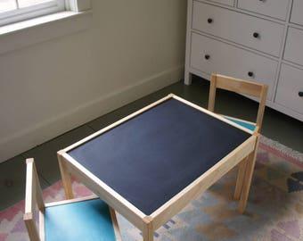 LättHack Low Chalkboard Table