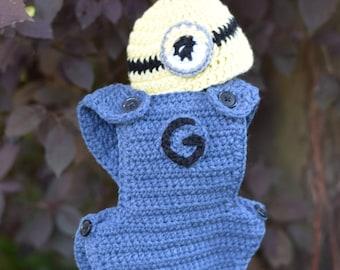 Baby minion costume | Etsy