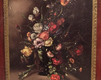 Vintage Floral Bouquet oil painting