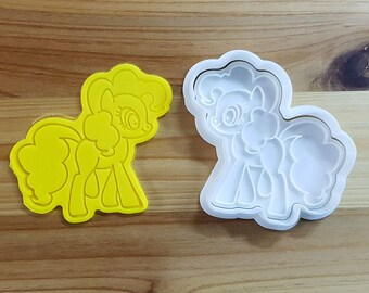 My Little Pony - Pinkie Pie Cookie Cutter and Stamp