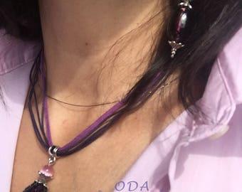 Purple Grape Pendant