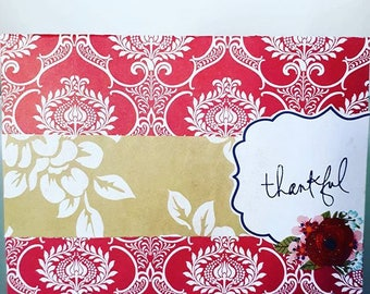 Thankful - Thank You Card