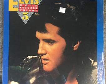 Elvis Presley - Elvis' Gold Records Vol. 5 New Sealed (180 Gram Audiophile Vinyl/30th Anniversary Ltd. Edition/Gatefold Cover)
