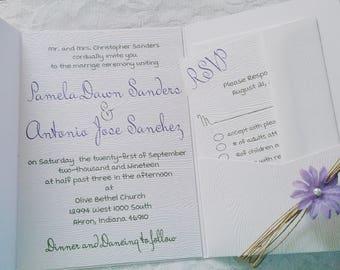 barn wedding invitations embossed invitations rustic wedding invitation country wedding invitation farm - Embossed Wedding Invitations