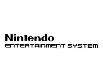 Game Console Logos | Nintendo Entertainment System #2
