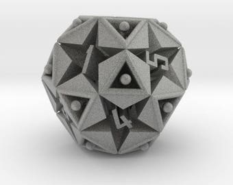 Magic Dice 12 sided Icosidodecahedron
