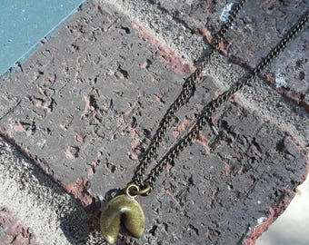 Fortune Cookie Necklace
