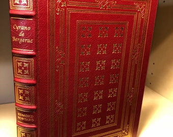 Easton Press Cyrano de Bergerac by Edmond Rostand 100 Greatest