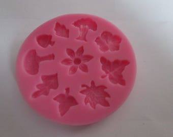 nature theme silicone mold