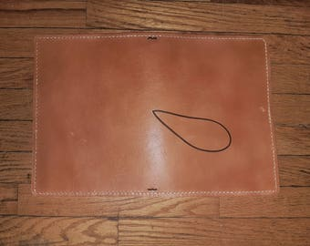 Non-Etched Leather Traveler's Notebook / Leather Fauxdori / Leather TN