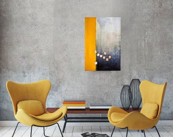 Original abstract acrylic painting, Wall art canvas, Modern Art Abstract Painting, Acrylic painting on Canvas, Original art