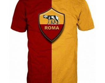 New ultramodern 3D  High Quality  Print Fans  short Sleeve t-shirt Roma