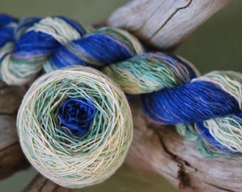 Hand Dyed Sock Yarn Blank - Walk and Talk