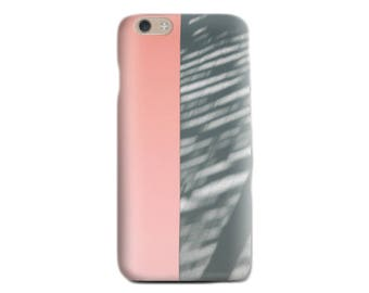 Pink iPhone 6 case Soft silicone case Abstract iPhone case Pink and Gray iPhone case Gift for her Teens Gift iPhone 5 case Birthday gift