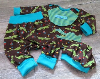 Baby set 4 parts request fabric