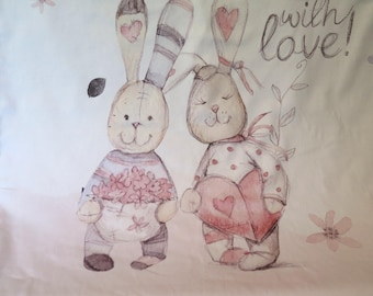Cuddly blanket, bedspread, Blanket, Bunny