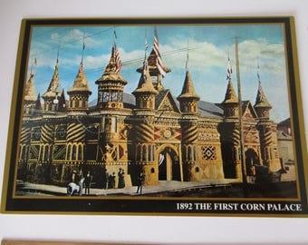 19 Postcards of Corn Palace in South Dakota Starting Date of 1892, Dakotaland Postcards & Souvenirs, Inc. Mitchell, SD, Corn Palace Cards