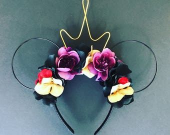 Evil Queen Inspired Mickey Ears