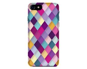 Geometric iPhone 7 Case, Colourful iPhone 6 Case, iPhone 6s Cover, Samsung S7 Case, iPhone 7 Plus Case, iPhone Case G11