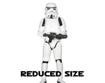 SPECIAL OFFER Star Wars Stormtrooper Costume Armour with Accessories and Ready to Wear - Original Replica - A New Hope - Reduced Size