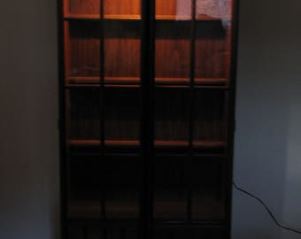 Mid Century Brutalist Keller Hutch Bookcase ChinaDelivery Available