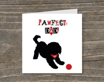 Pawfect Dad Card
