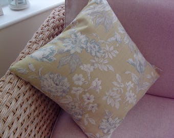 Cushion Cover Only 'Campagna' by Porter & Stone 17.5 Ins Square 100% Cotton Furnishing Fabric