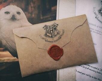 Hogwarts Acceptance Letter|Harry Potter Gift|Wizard Acceptance Letter|Digital hogwarts envelope