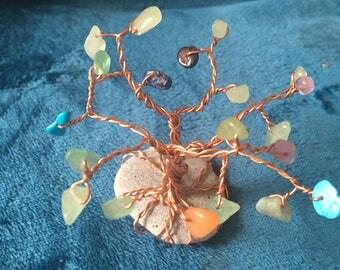 Handmade tree of life sculpture